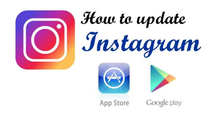 how to update instagram