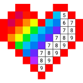 Color Numbers Draw Pixel Art