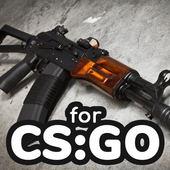 How to draw weapons step by step for CS GO